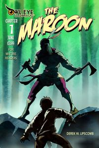 maroon cover